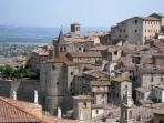 A typical and stunning view of medieval Anghiari