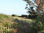Countryside views from garden towards Portland