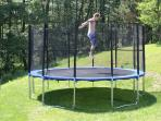 Private trampoline
