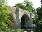 Devil's Bridge, Kirkby Lonsdale less than 2 miles away