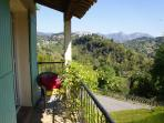 Relax and enjoy the rural mountain and valley views from the balcony