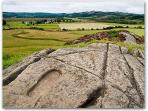 Dunadd Foot Print - King of Scotland if your foot fits!