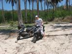 explore the islands by motorbikle