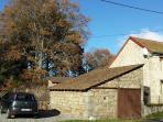 Cottage in Les Puids, St Avit-de-Tardes, in the heart of rural France. December 2013