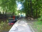 Canal walks 2 minutes from the door step