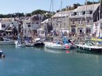 Picturesque Padstow Harbour