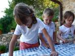 Weekly pizza evening is a great social event for children, adults - all the family