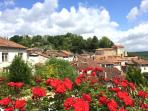 Aubeterre-sur-Dronne, the village located 4km away