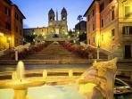 Piazza di Spagna by night