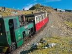 And so does Snowdon Mountain Railway - all the way to the peak