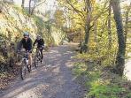 Various cycling routes, including Lon Las Cymru and Lon Eifion