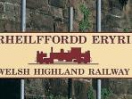 Enjoy a relaxing day out on The Welsh Highand Railway