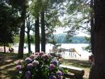 Lac des Montagnes.Very children friendly swimming area with life guard. Mini golf, cafe, restaurant.