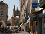 Albi with its pedestrian streets, unique cathedral and Toulouse-Lautrec museum. A must.