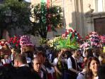 Bucchianico is famous for its Festa Dei Banderesi - every year in late May