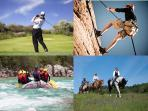 Loads of outdoor activities to choose from in the area