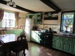 Tudor House kitchen where our famous full English breakfasts are created