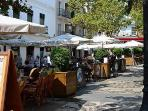 Plaza Cavana - Nerja Towns traditional narrow streets and cafe culture on your doorstep