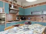 kitchen 17sqm fully equipped  with dishwasher, microwave , refrigerator/freezer,  ice fridge etc..