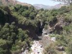 Sicily: Province of Messina: the Alcantara Canyon. Reach in one day excursion from Casa Buganville