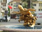 Turtle roundabout