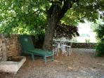Gite du Couchant, private garden
