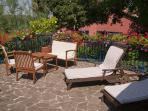 Relax in terrace