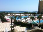 A Sunny Beach beachside pool