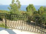 Another view from the balcony of Nerissa apartments No.4