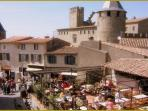 The nearby medieval city of Carcassonne is a 35 minute car journey or a 1 euro train ride away.