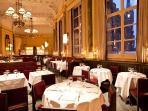 Chef Wareing's brasserie, 'The Gilbert Scott' is just downstairs