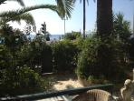 jardin privatif à 20 mètres de la mer 50 m2