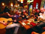 Join in a session in the local pubs - Bring your own instruments! A visit to John B's pub is a must!