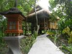 Bamboo Beach Hut ideal for relax and rejuvenate.