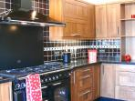 Rangemaster appliances, Fridge Freezer with filtered ice maker & chilled water. And a wine coole