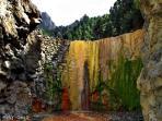 Cascada de Colores, Volcan de Taburiente