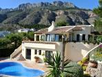 Altea, villa siera 8 Persons,beautiful sea view