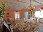 Dining area - Luxury dining area for 6 persons