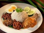 Malaya Nasi lemak