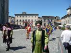 corpus domini in orvieto, corteo storico, a splendid, impressive procession, second weekend of June
