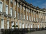 Enjoy the splendour of Bath's Georgian architecture.