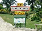 Welcome to St Fraimbault