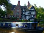 Cruise the boat on miles of lock-free canals or take on the Cheshire Ring.