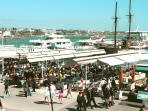 Visit Paphos old port with it's many bars and restuarants or enjoy a sail around the bay