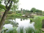 Gardens in Roman stone quarry - 5 km