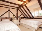 Twin bedroom in the Granary