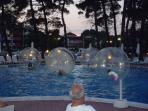 Air ball  for pools, fun for kids