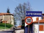 The village of Caprignana, the gateway to the beautiful Orecchiella national park