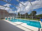 Full sun on pool