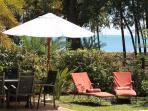 Relax under Filao Trees at Villa Cazalines